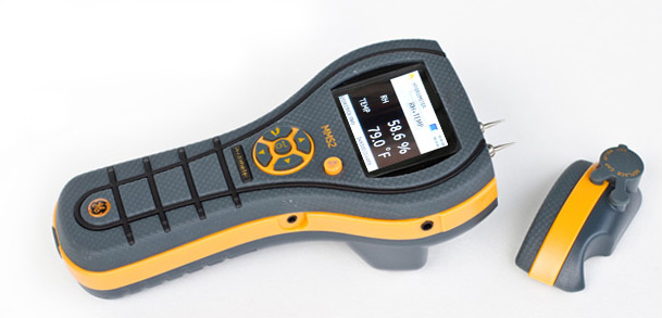 Detectores de humedad transportes de paneles de madera - Detector de humedad para suelos y paredes ...