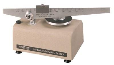 Shear / Scratch tester TABER 550 / 551