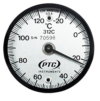 Tab Mount Surface Thermometer