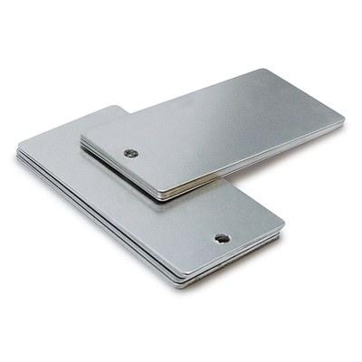 Steel test panels