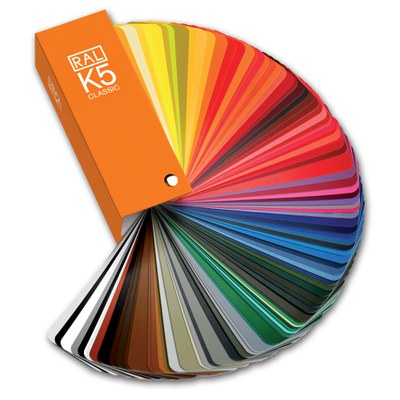 RAL K5 Colour fan deck
