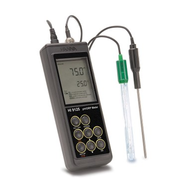 HI 9125N, Portable pH/mV Meter with Enhanced Design ph meters Hanna instruments