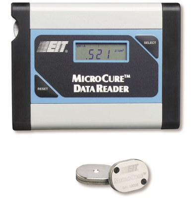 Microcure miniature radiometer