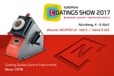 NEURTEK at European Coating Show 2017