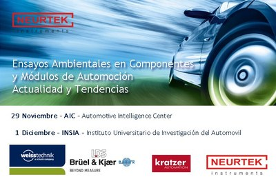 Workshop, Enviromental Testing in Automotive