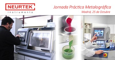 Workshop Metalography in Madrid