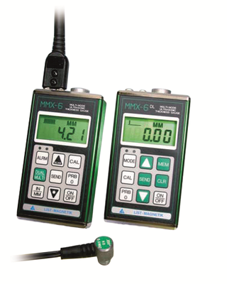 MX serie, ultrasonic thickness meters