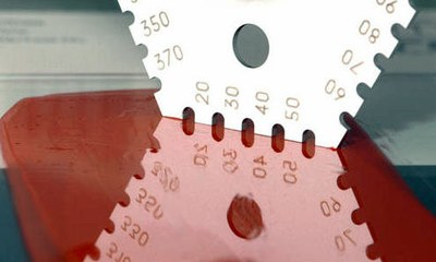 Wet or Fresh coating gauge