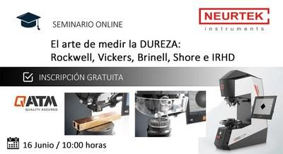 Webinar Dureza Metal