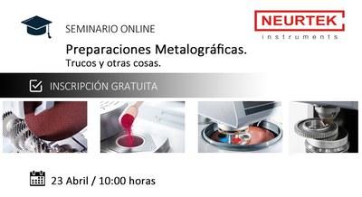 Webinar Preparaciones Metalograficas