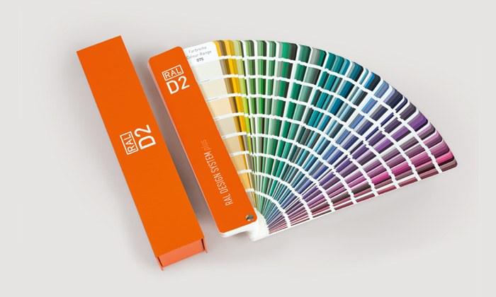 Cartas de color RAL Design — Neurtek