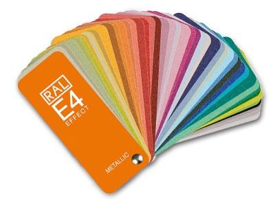 Cartas de color RAL Effect