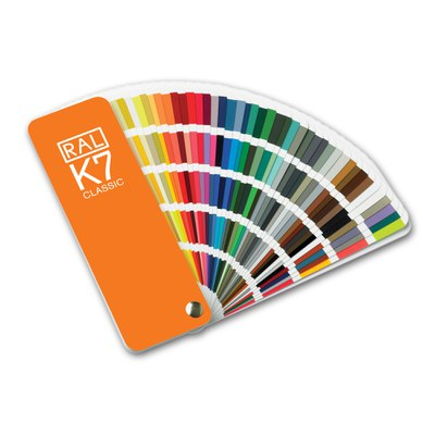 Cartas de colores RAL, NCS, Pantone, Munsell