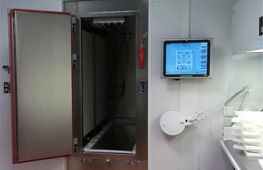 Cabina de secado de flujo laminar ISO 5 Estufas y hornos industriales Vötsch  Vötsch Industrietechnik