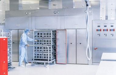 Esterilizador de aire caliente para sala blanca (ISO 5) VHSF Estufas y hornos industriales Vötsch  Vötsch Industrietechnik