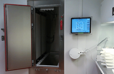 Cabina de secado de flujo laminar ISO 5 Cámaras Climáticas para Ensayos de Estabilidad en Farmacia Weiss Umwelttechnik