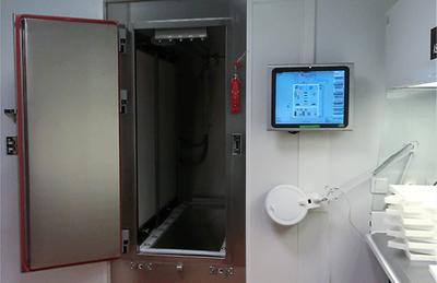 Cabina de secado de flujo laminar ISO 5