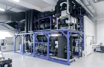 Bancos de ensayo para climatización de vehículos
