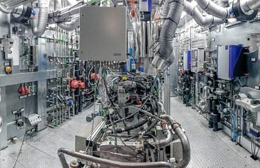 Bancos de ensayo para motores Proyectos Especiales Weiss Umwelttechnik