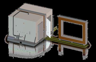 Cámara calorimétrica para ensayos de materiales