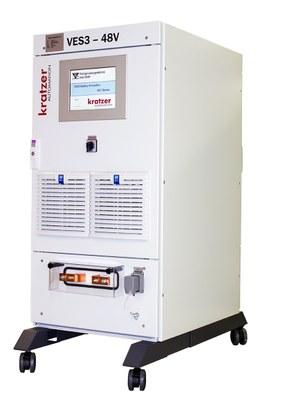 Simulador de Baterias VES3 serie 48V Simuladores de Baterías Kratzer Automation KRATZER AUTOMATION