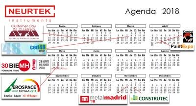 Agenda de Ferias y Jornadas Técnicas 2018