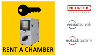 Alquiler de cámaras climáticas WEISS y VÖTSCH