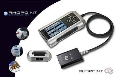 Brillómetro Rhopoint IQ Flex diseñado para superficies curvas y pequeñas