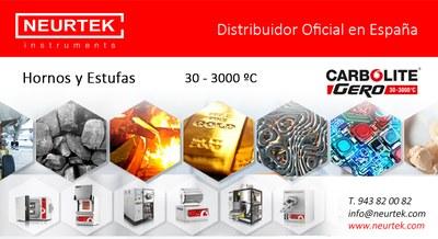 CARBOLITE -GERO, hornos y estufas de secado 30 - 3000 ºC