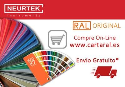 Compre las Cartas RAL en www.cartaral.es con Envío GRATIS