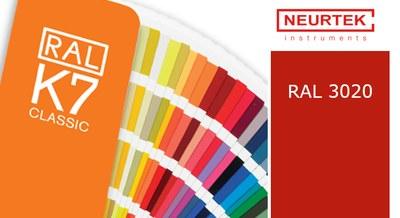 ¿Cuál es el color RAL de NEURTEK para el 2019?