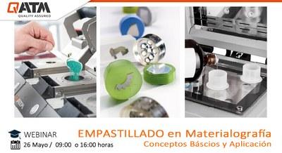 Empastillado en Metalografía