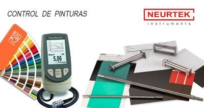 Instrumentos para control de pinturas