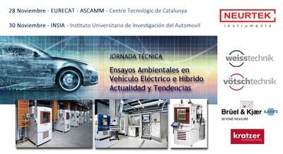 Jornada Técnica Ensayos Ambientales en Vehículo Eléctrico e Híbrido