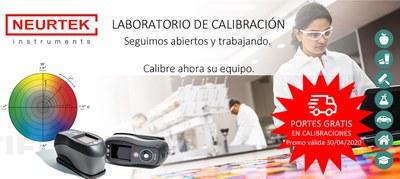 Laboratorio de Calibración ABIERTO. CALIBRE sus equipos en NEURTEK.