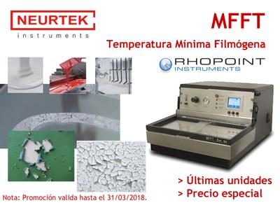 MFFT o Temperatura Mínima filmógena, factor clave en una correcta formulación