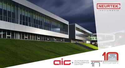 NEURTEK acude al 10º Aniversario del AIC · Automotive Intelligence Center