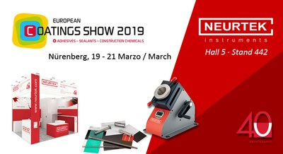 NEURTEK desembarca en la European Coating Show 2019