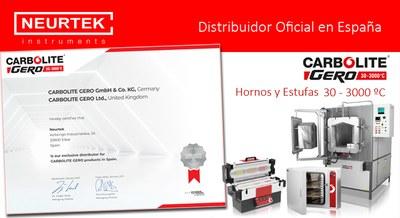 NEURTEK, distribuidor exclusivo de Carbolite-Gero en España.