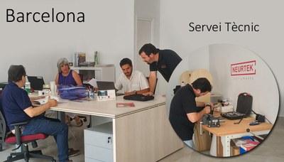 NEURTEK inaugura nueva oficina en Barcelona