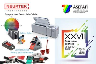 NEURTEK participa en el XXVII Congreso Técnico de ASEFAPI