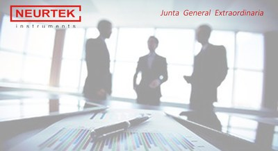 NEURTEK S.A. Junta General Extraordinaria