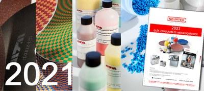 Nueva guía de Consumibles Metalográficos para preparación de muestras