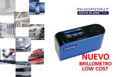 Nuevo Brillómetro TRIO Low Cost
