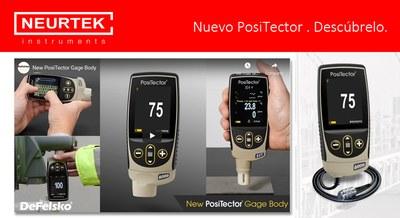Nuevo PosiTector, más preciso y versátil.