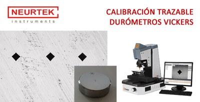 Nuevo Servicio de Calibración de Durómetros Vickers