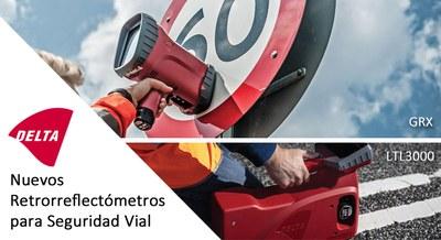 Nuevos Retrorreflectómetros Delta para Seguridad Vial