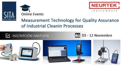 Seminario Online: Técnicas de medición para el Control de calidad de los procesos de limpieza industrial