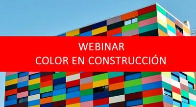 Webinar Color en Materiales de Construcción