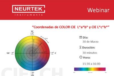 Webinar: Coordenadas de Color CIE L*a*b* y L*c*h*